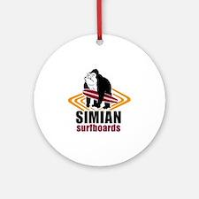 Simian logo Round Ornament