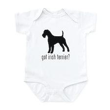 Irish Terrier Infant Bodysuit
