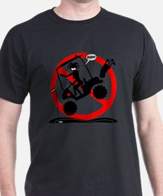 HOLE IN ONE! black not! T-Shirt