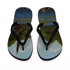 StephanieAM Bluebonnet Flip Flops