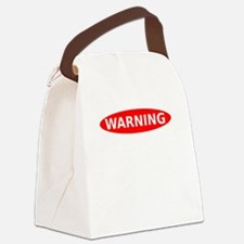 Warning May Contain Alcohol Canvas Lunch Bag