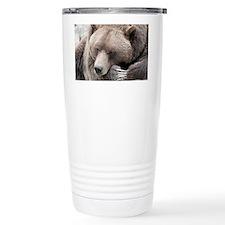 Lazy grizzly Travel Mug