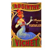 Absinthe Postcards