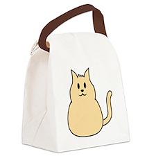 cute_cat Canvas Lunch Bag