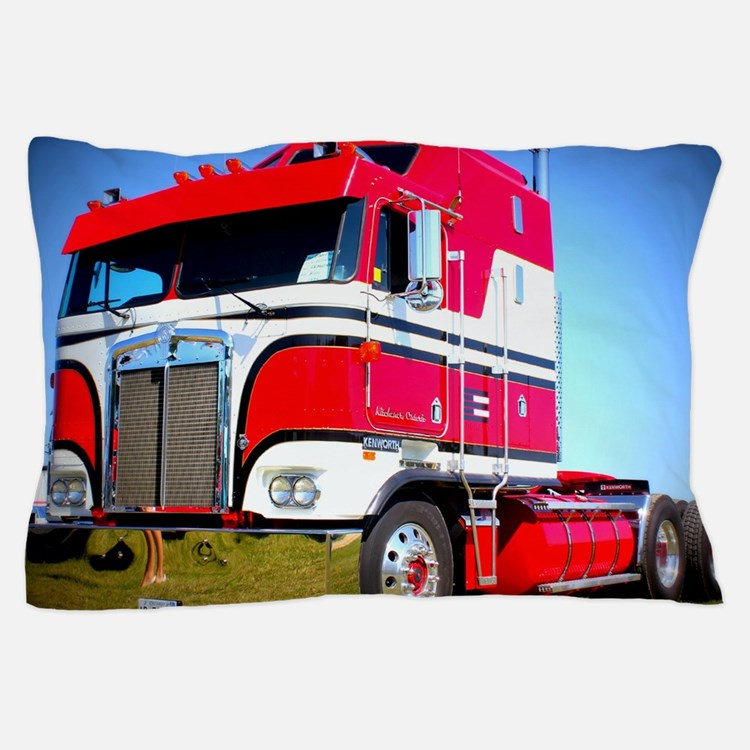 1985 Kenworth Cabover K100 Pillow Case