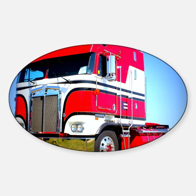 1985 Kenworth Cabover K100 Decal