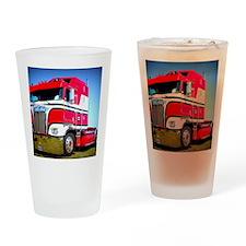 1985 Kenworth Cabover K100 Drinking Glass