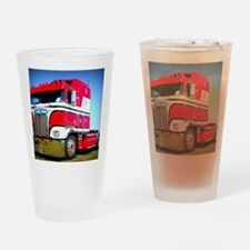 1985 Kenworth Cabover K100 Drinking Glass