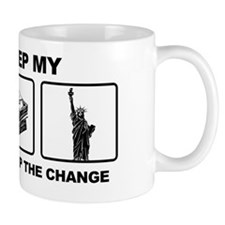 Obama - Ill Keep My Guns, Money and Fre Mug