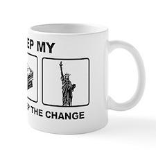 Obama - Ill Keep My Guns, Money and Fre Small Mug