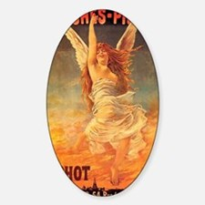 Erotic Angel French Art Nouveau Pos Decal