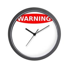 Warning May Contain Rage Wall Clock