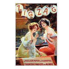 Edwardian Girls Smoking F Postcards (Package of 8)
