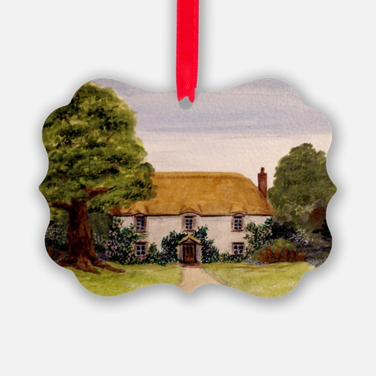 StephanieAM Cottage Ornament