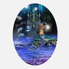 Best Seller Merrow Mermaid Oval Ornament