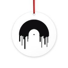 record_disc Round Ornament