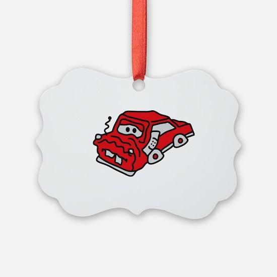 auto_accident Ornament