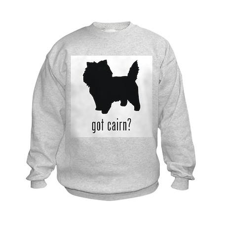 Cairn Terrier Kids Sweatshirt