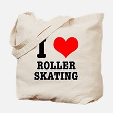I Heart (Love) Roller Skating Tote Bag
