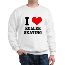 I Heart (Love) Roller Skating Sweatshirt