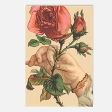 Vintage Rose Postcards (Package of 8)