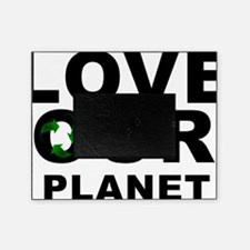 love our planet recycle Picture Frame