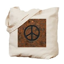 rusty-peace-LG Tote Bag