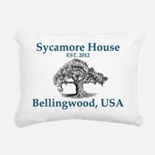 Sycamore House, Est. 201 Rectangular Canvas Pillow