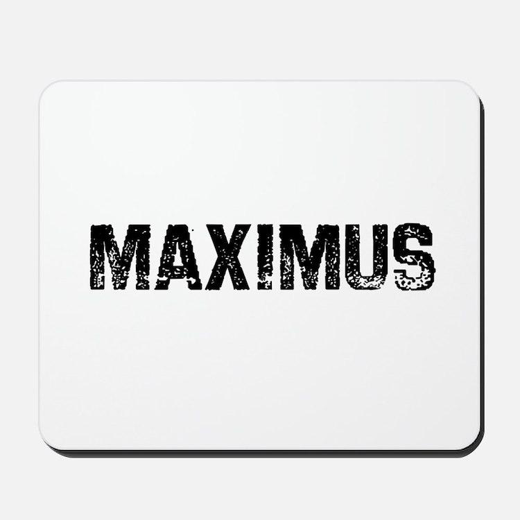 Maximus Mousepad