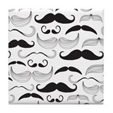 Moustache Drink Coasters