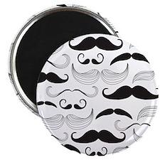 Mustache Black Magnet
