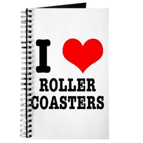 I Heart (Love) Roller Coasters Journal