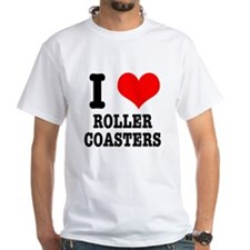 I Heart (Love) Roller Coasters Shirt