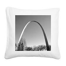 STL Arch Square Canvas Pillow