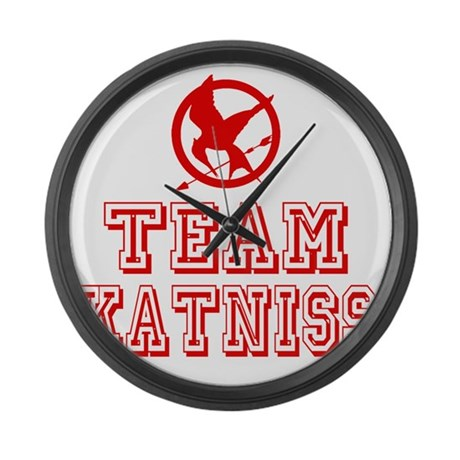 Hunger Games Team Katniss Large Wall Clock