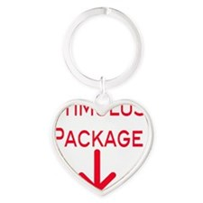 Stimulus Package Heart Keychain