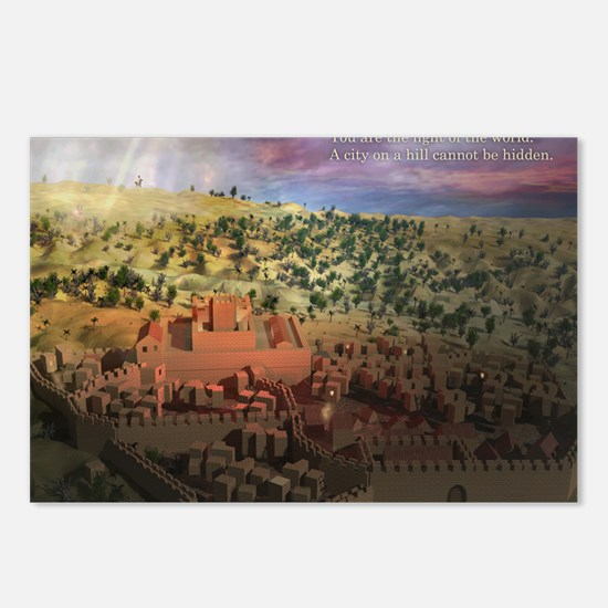 City on a Hill, Image Two Postcards (Package of 8)