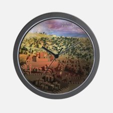 City on a Hill, Image Two Wall Clock