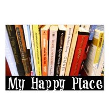 Happy Place Postcards (Package of 8)