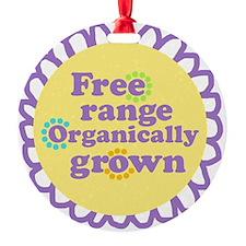 Free Range Organically Grown Ornament