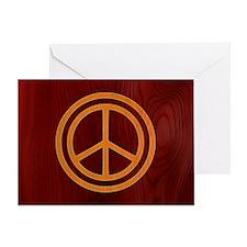 woody-peace-OV Greeting Card