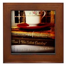 Read, Sip, Love Framed Tile