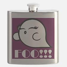 Foo (Magenta) Flask