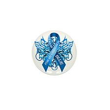 I Wear Blue for my Grandson Mini Button