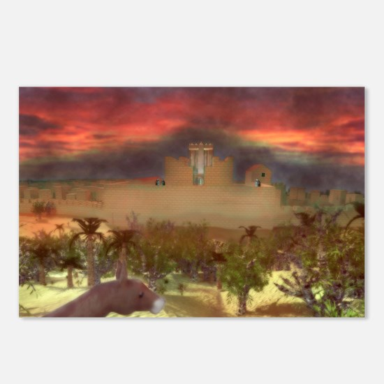 City on a Hill, Image One Postcards (Package of 8)