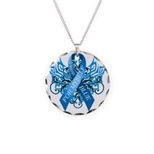 I Wear Blue for Myself Necklace