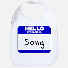 hello my name is sang  Bib