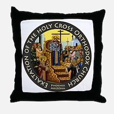 Exaltation of the Holy Cross Logo Throw Pillow