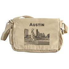Austin_12x12_StevieRayVaughan_Black Messenger Bag