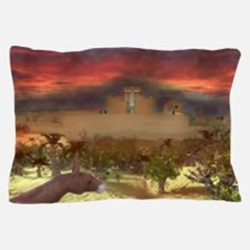 City on a Hill, Image One Pillow Case